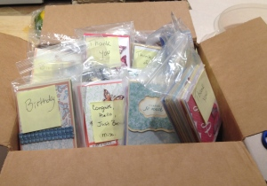 Terri Sandoval, did you make all of these cards?!  Please send me a comment answer.
